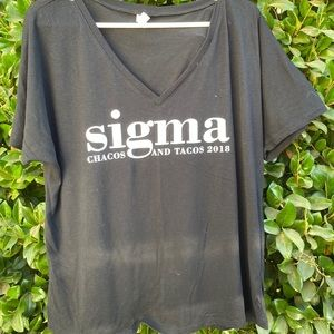 Sigma Sorority Slouchy T-Shirt